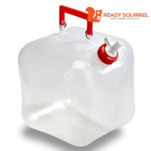 Fold a Carrier water jug