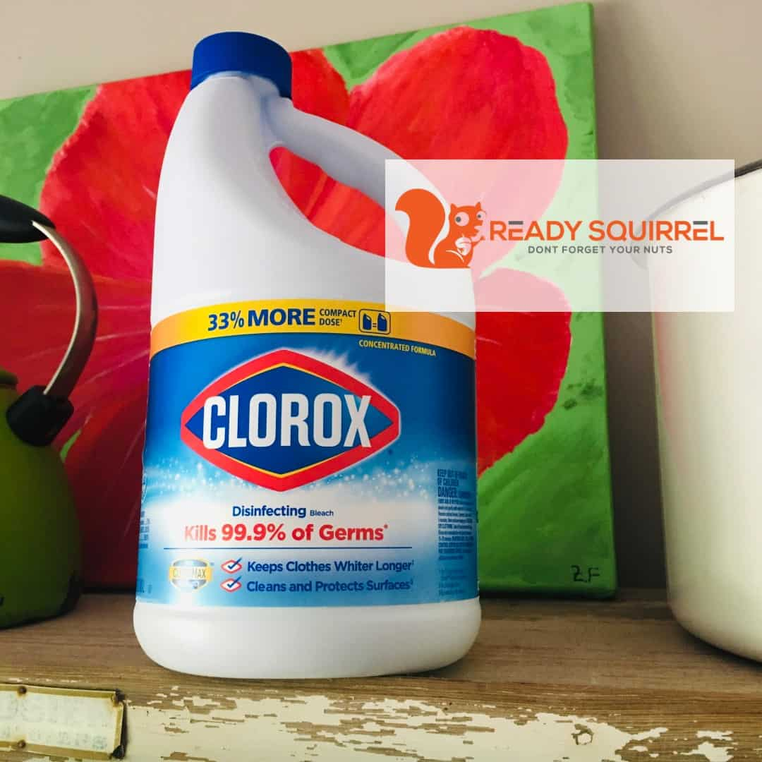 Clorox Bleach Bottle