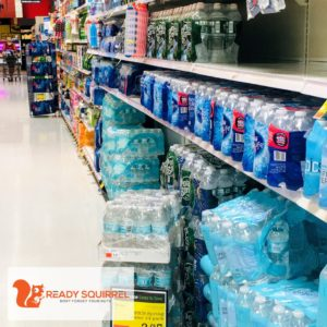 Grocery Store, bottled water