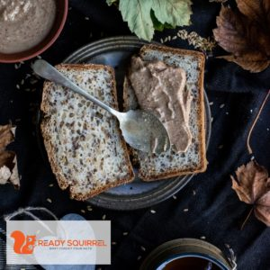 Almond butter and toast