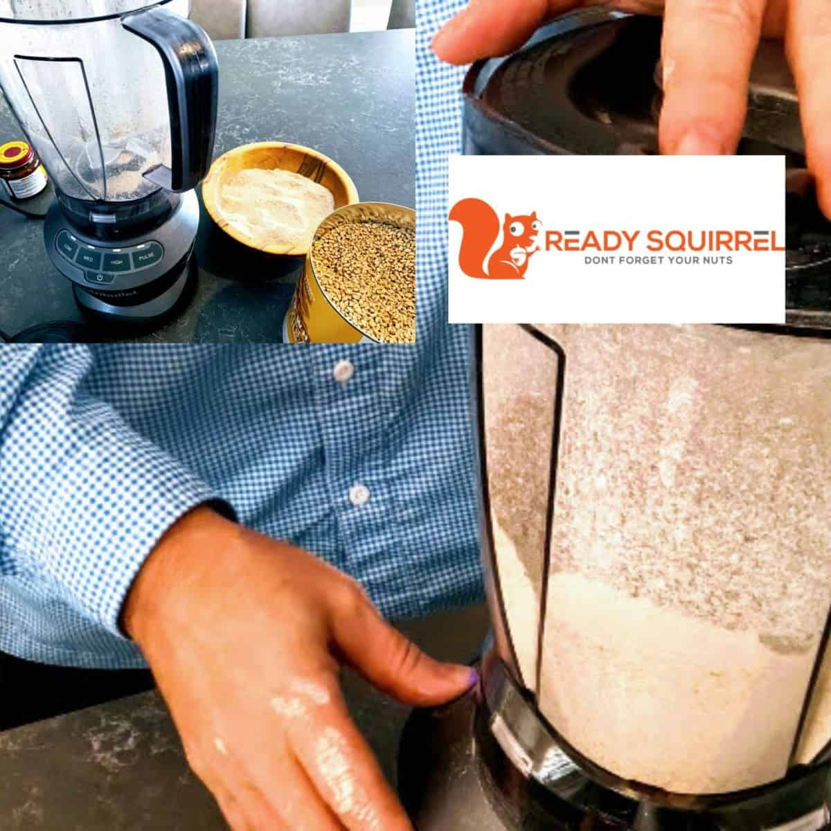 Mill Wheat In A Blender If You Must