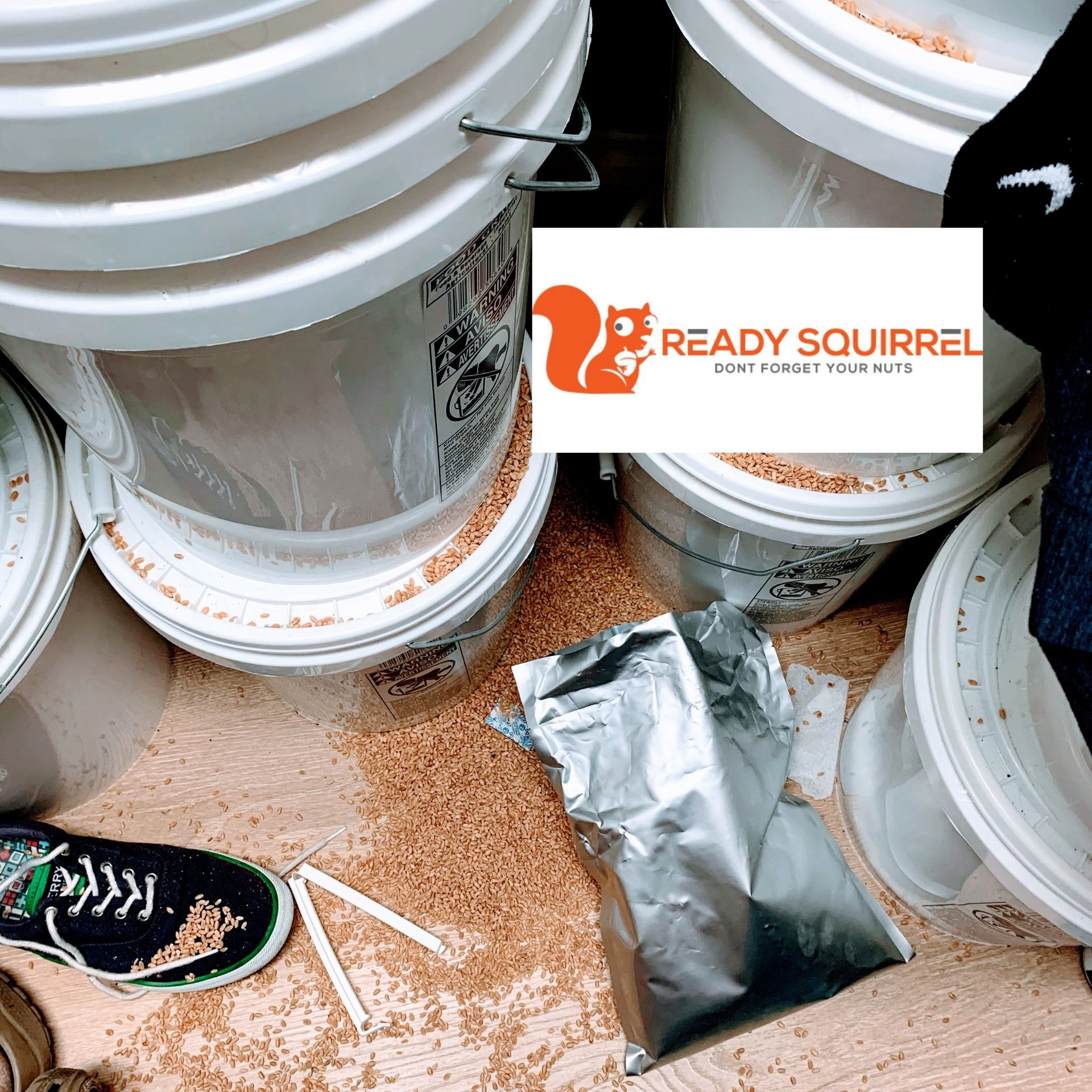 Wheat Storage: Long Term Survival Pantry