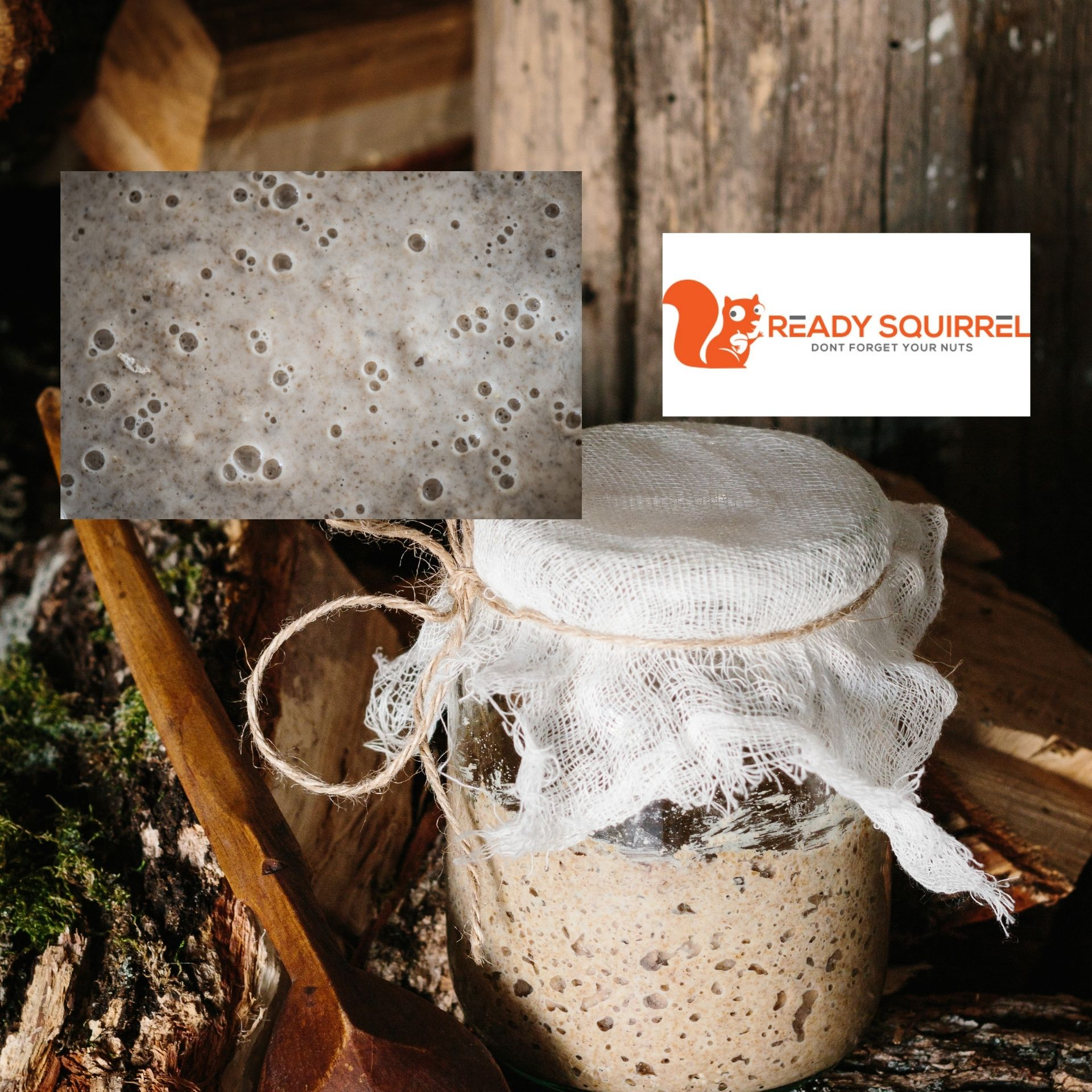 Emergency Yeast: How To Make Bread Yeast From Just Flour & Water