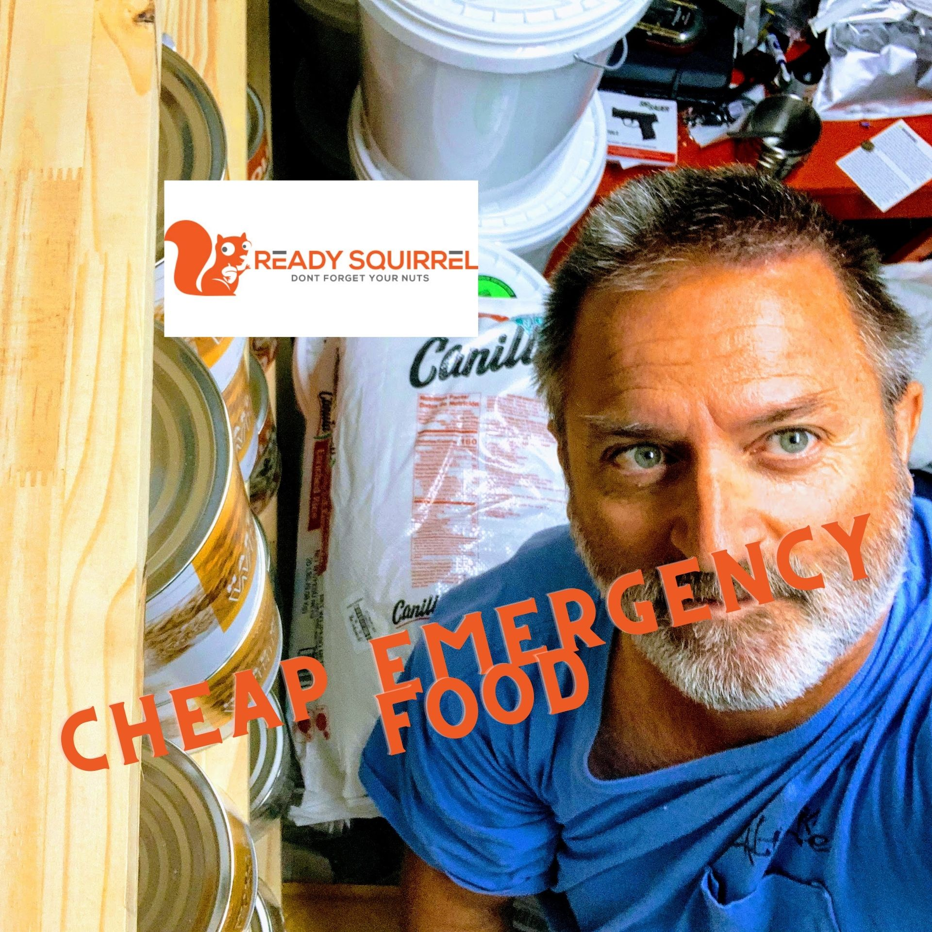 Cheap Emergency Food Stockpile