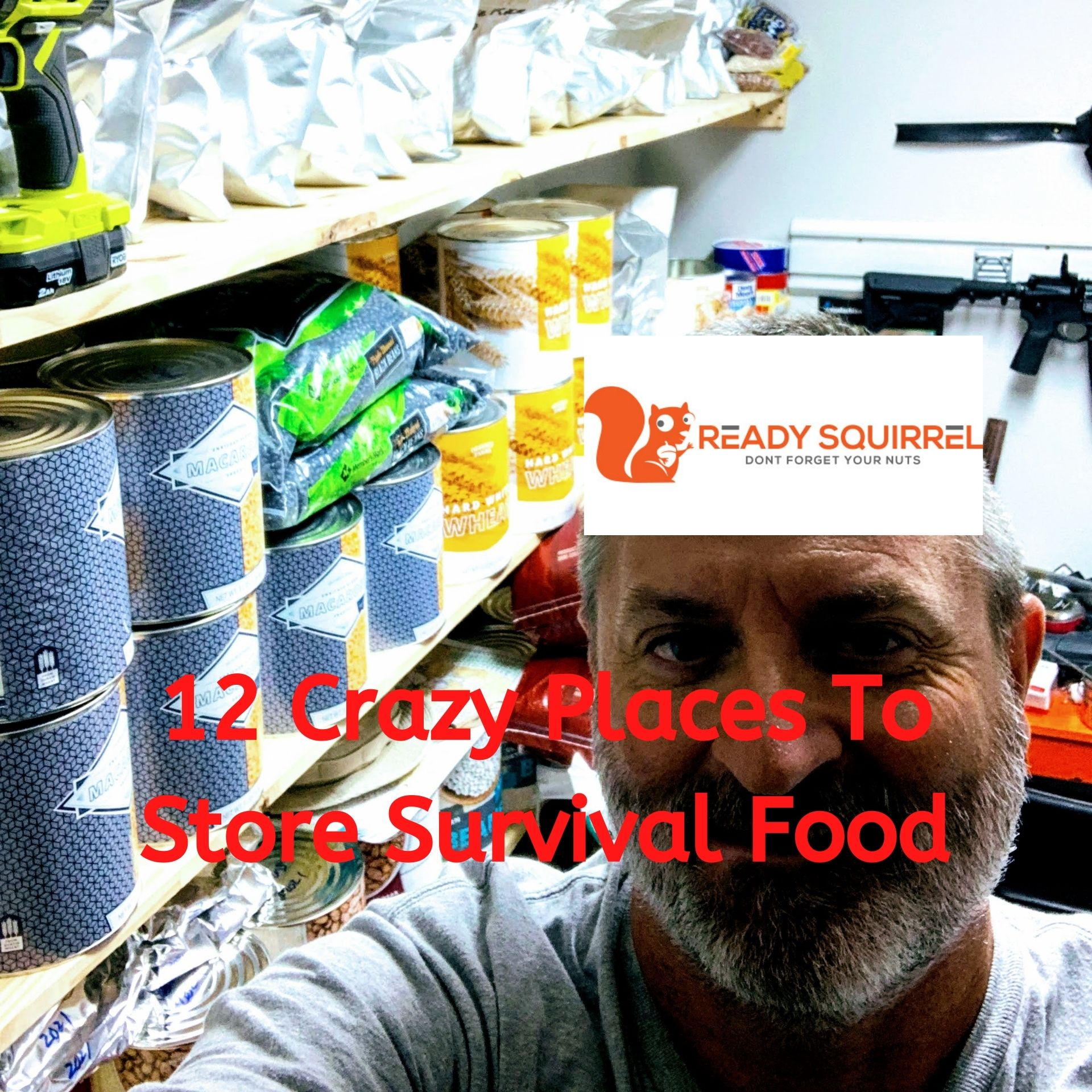 11 Crazy Places to Store Survival Food