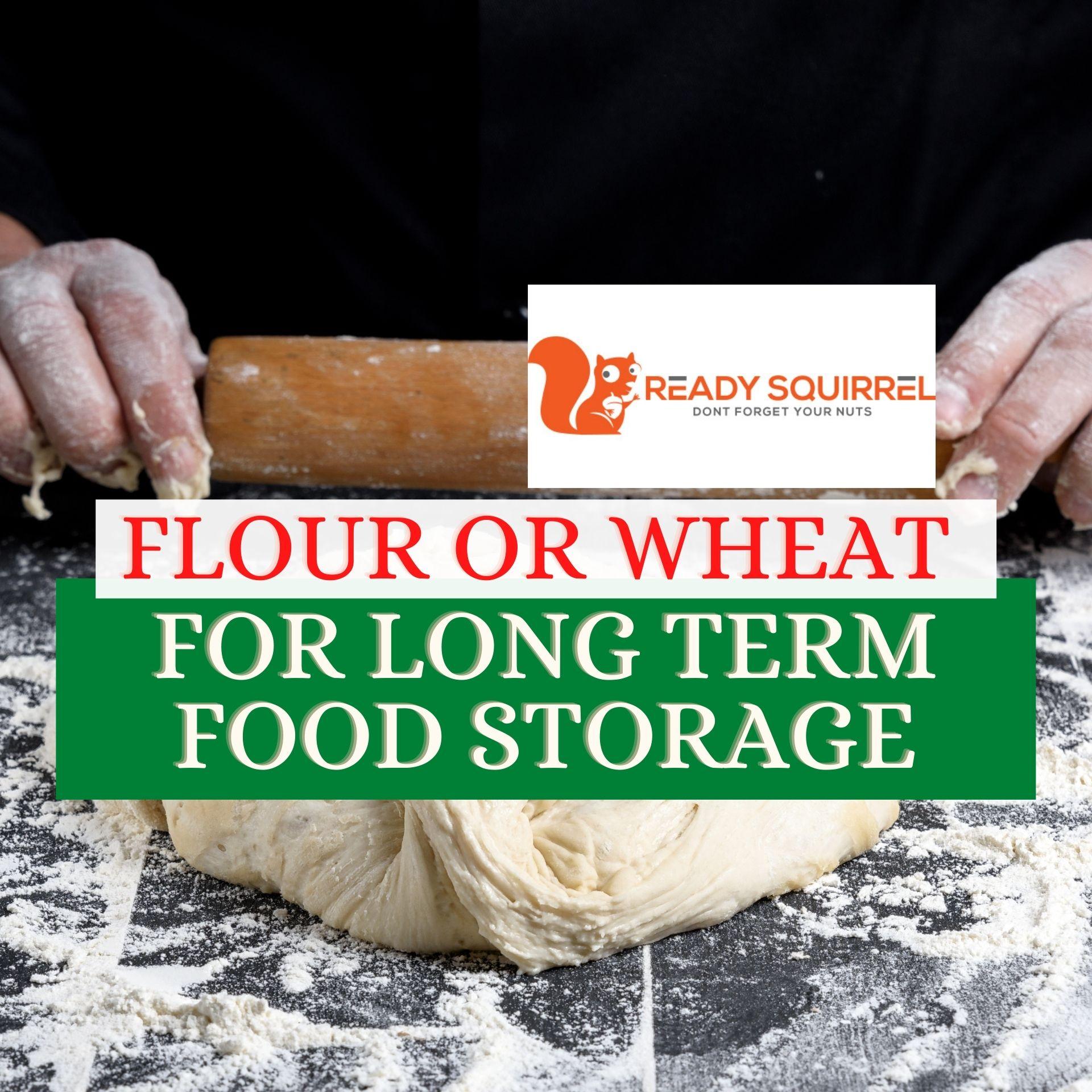 Flour Or Wheat: Maximum Shelf-life